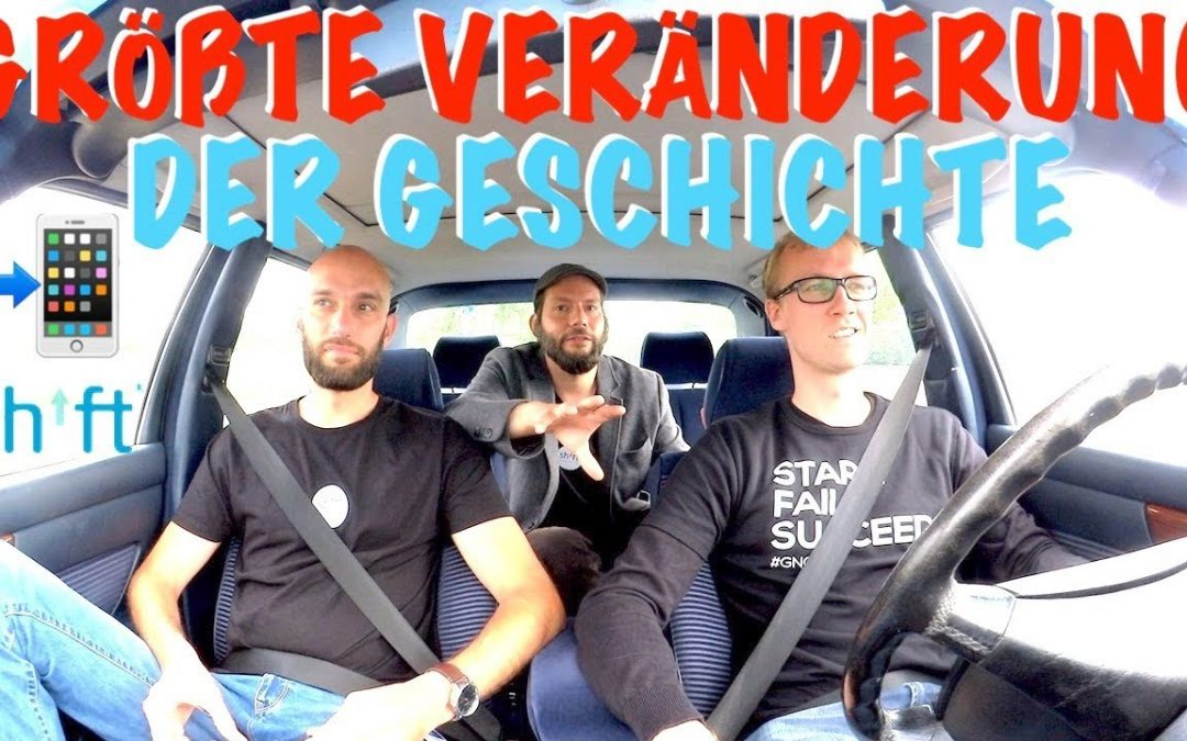 SHIFTPHONES im Startup-Taxi