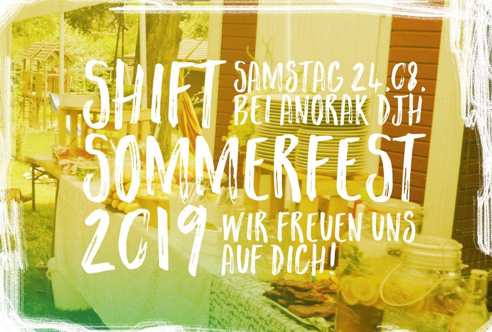 [UPDATE] SHIFT-Sommerfest 2019