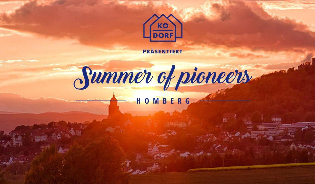Summer of Pioneers – Entdecke das Landleben!